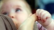 a breastfeeding infant