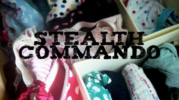 panties organized in an underwear drawer