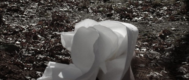 wadded tissue